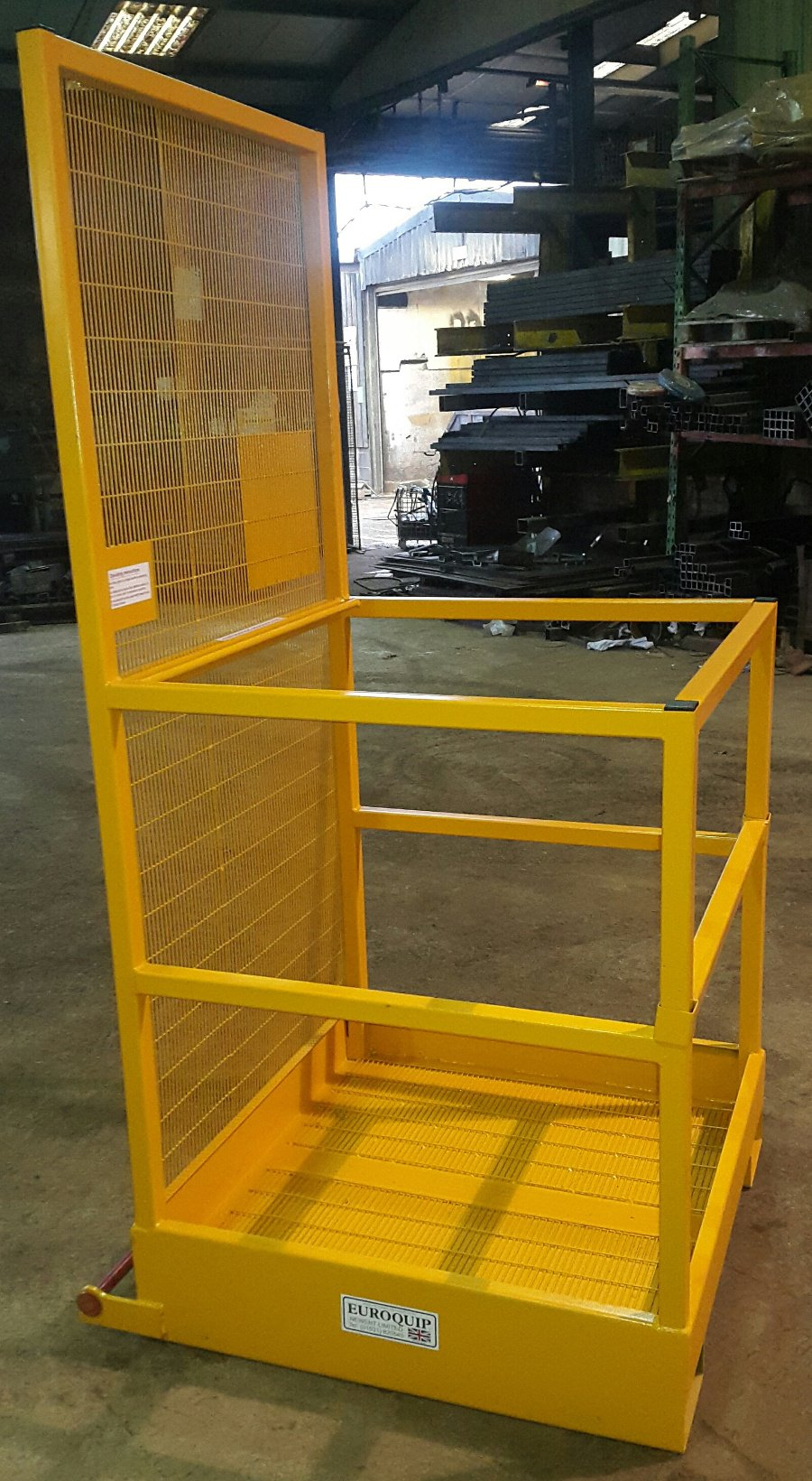 Forklift Attachments Such As Forklift Tipping Skips
