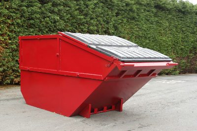 Purpose Built Red Skip