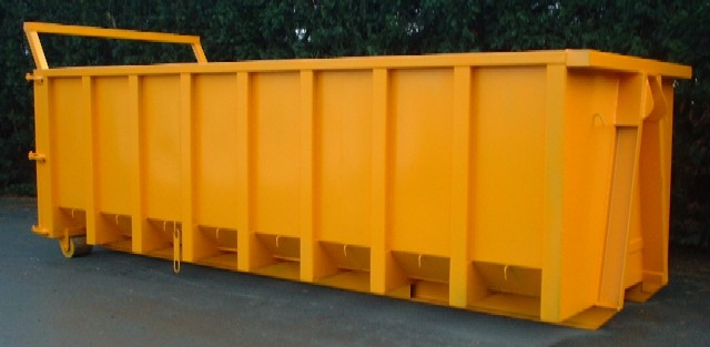 Open Hooklift Skip 30yd. roll-on roll-off