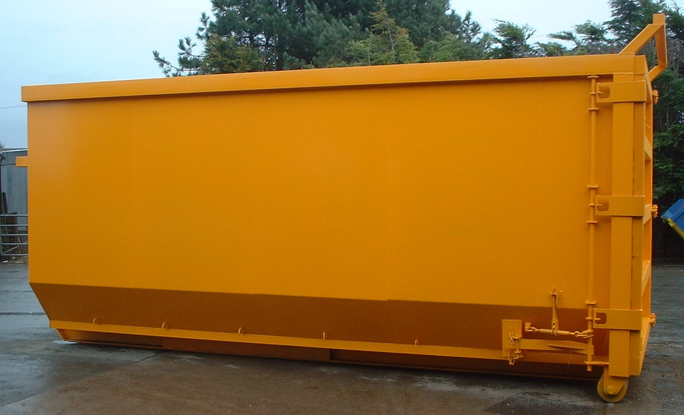 Open Hooklift Skip 3 big