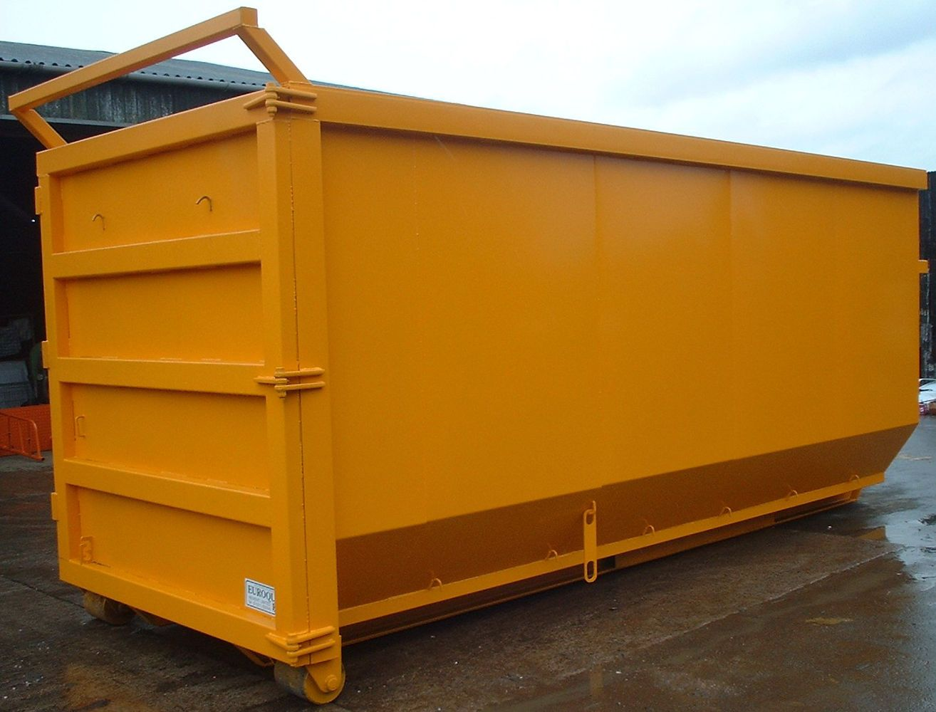 Open Hooklift Skip 4 big