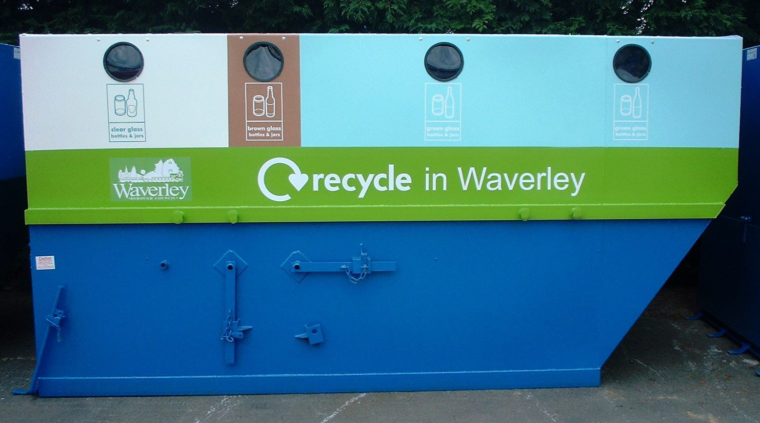Waverley Council Bottle Bank big